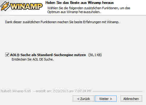 winamp_will_böses_installieren