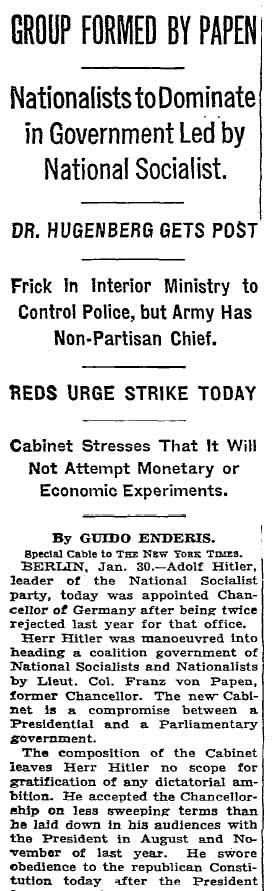 Hitler-Machtergreifung-New-York-Times-1933