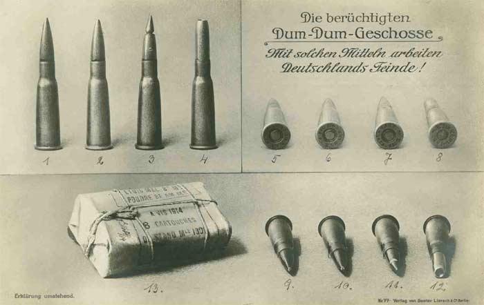 Kriegspropaganda_1916_Dum-Dum-Geschosse