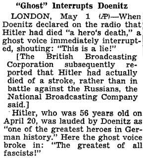 NYT-2_Mai_1945_Ghost-radio-voice