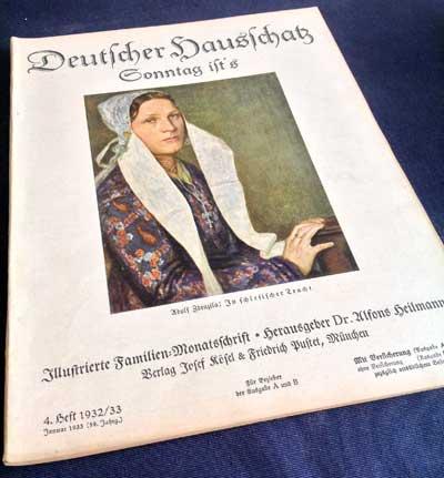 Deutscher Hausschatz - Januar 1933 - Titelseite