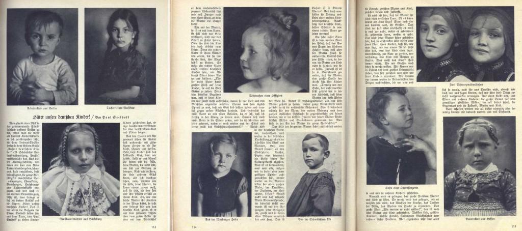 Deutscher Hausschatz 1933 - Hütet unsere Deutschen Kinder