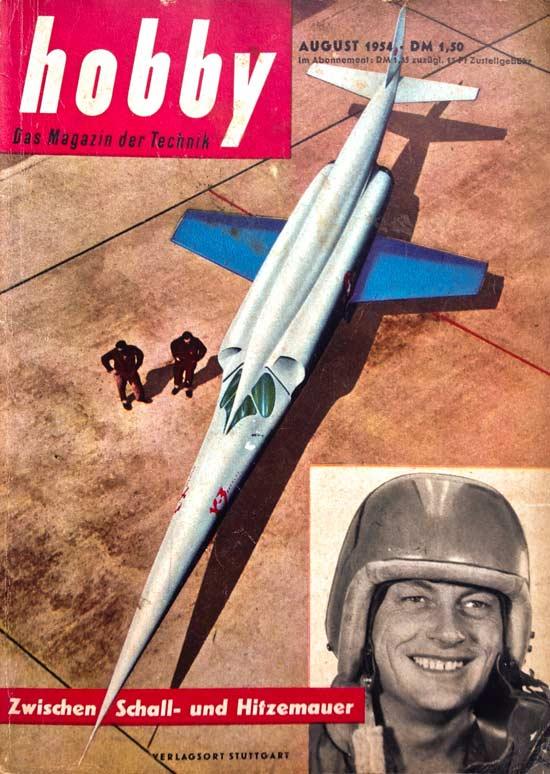Zeitschrift-HOBBY-August1954---Titelbild