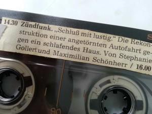 zündfunk---schluss-mit-lustig---cassette