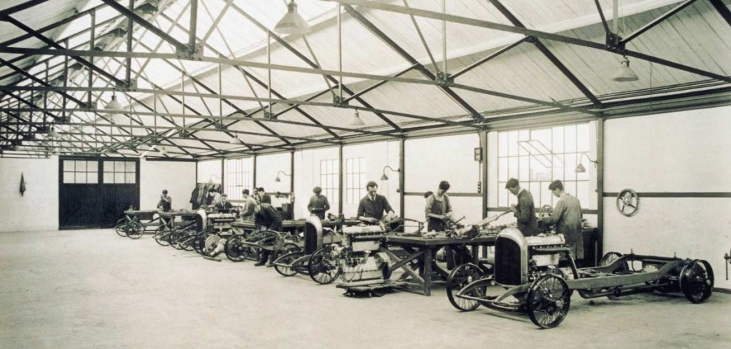 Bentley_Cricklewood-factory-1920ies_inside
