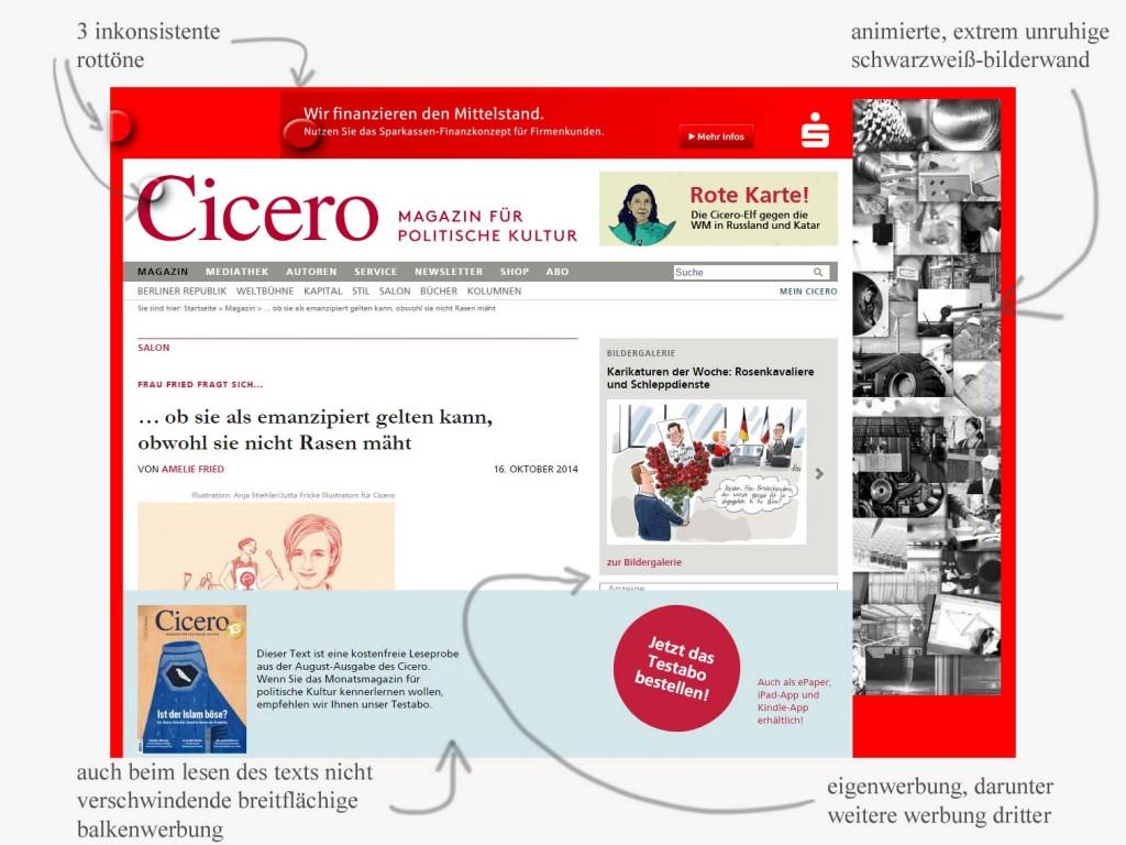 cicero_webseiten_probleme