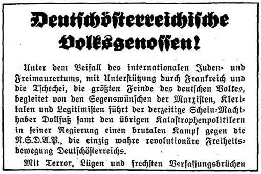 NaziPropaganda1933gegenÖsterreich
