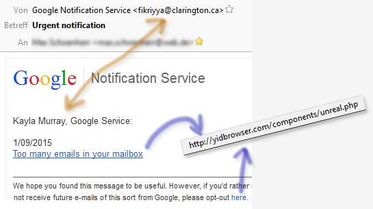 googleFakePhishingMail